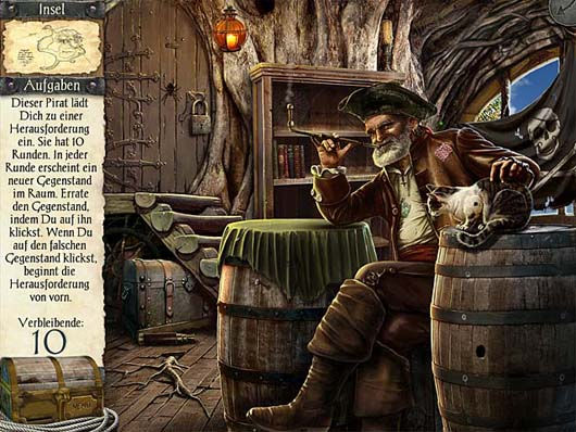 Robinson Crusoe and the Cursed Pirates - Versteckte Objekte ...